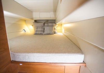Solar electric boat side cabin