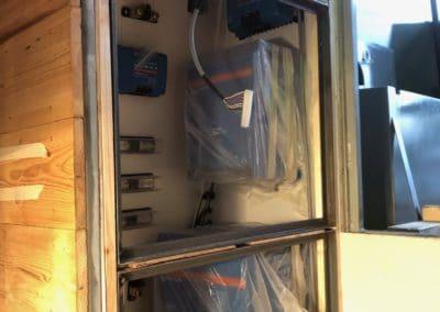 electronics cupboard