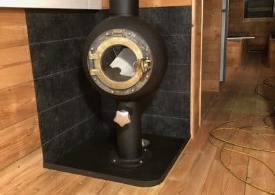 upcycled stove